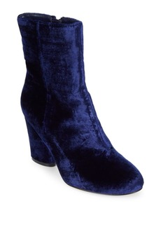 Saks Fifth Avenue Nita Velvet Booties