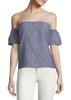 Saks Fifth Avenue Off-The-Shoulder Blouse