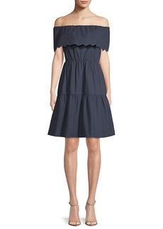 Saks Fifth Avenue Off-The-Shoulder Dress