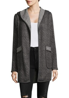 Saks Fifth Avenue Open Front Coat