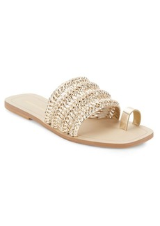Saks Fifth Avenue Open-Toe Flat Sandals