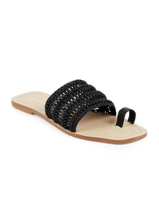 Saks Fifth Avenue Open-Toe Slide Sandals