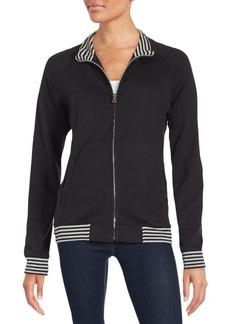 Saks Fifth Avenue Cotton Zip-Up Sweatshirt