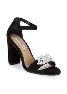 Saks Fifth Avenue Pearl Embellished Sandals