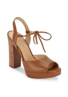 Saks Fifth Avenue Penelope Open Toe Platform Sandals
