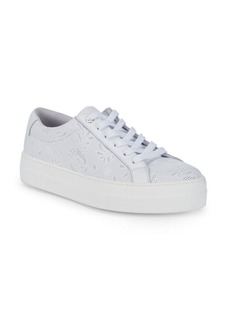Saks Fifth Avenue Perforated Leather Sneakers