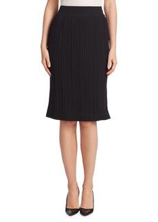 Saks Fifth Avenue Pleated Midi Skirt