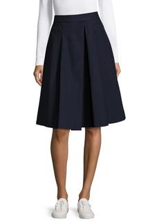 Saks Fifth Avenue BLACK Pleated Skirt