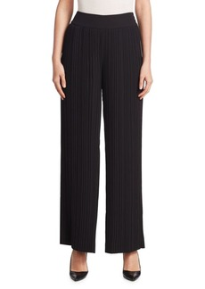 Saks Fifth Avenue COLLECTION Pleated Wide-Leg Pants