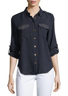 Saks Fifth Avenue Point Collar Button-Down Shirt
