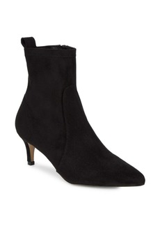 Saks Fifth Avenue Point Toe Suede Booties