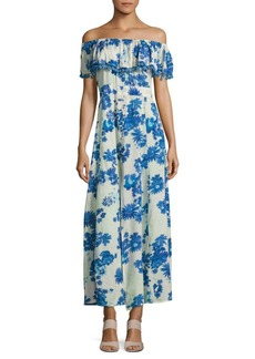 Saks Fifth Avenue Popover Floral Dress