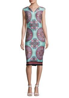 Saks Fifth Avenue Printed Sheath Dress