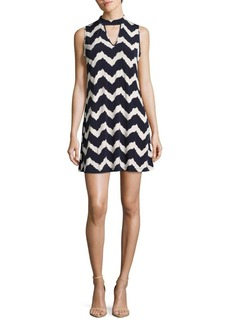 Saks Fifth Avenue Printed Sleeveless Shift Dress