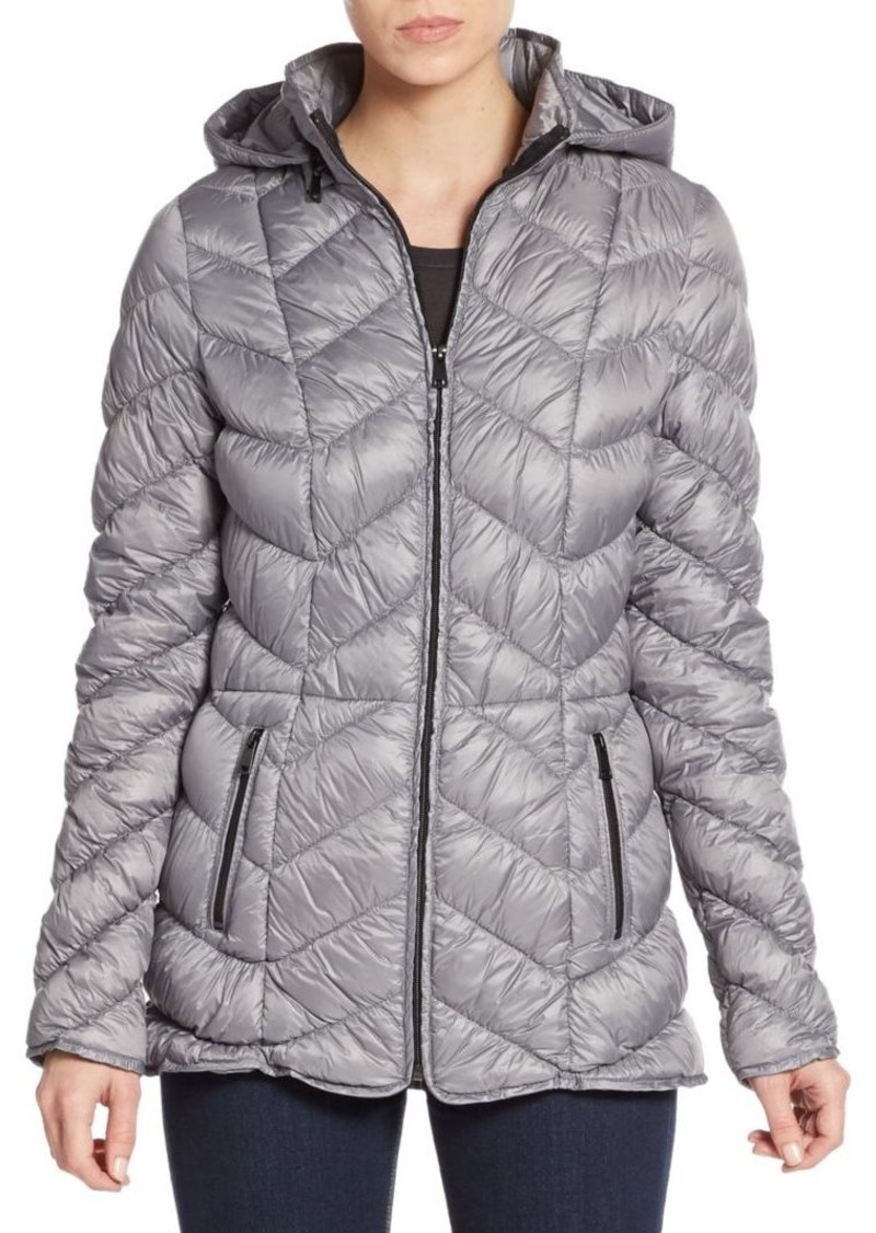 Saks Fifth Avenue Quilted Down Puffer Jacket