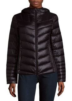 Saks Fifth Avenue Quilted Hoodie