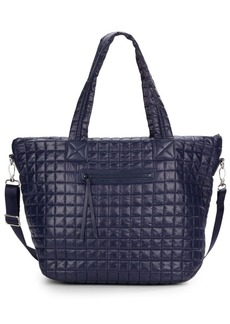 Saks Fifth Avenue Quilted Nylon Tote
