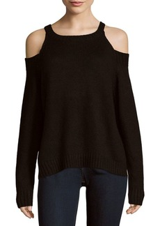 Saks Fifth Avenue Cold Shoulder High Neck Sweater