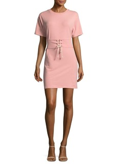 Saks Fifth Avenue RED Corset Pull-On Shirtdress