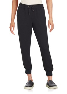 Saks Fifth Avenue RED Cropped Jogger Pants