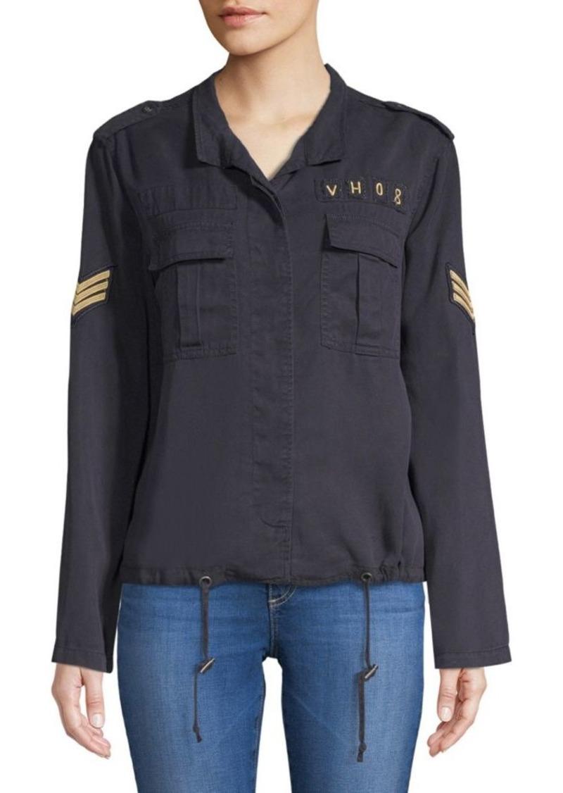 Saks Fifth Avenue Elden Spread Collar Button-Down Shirt
