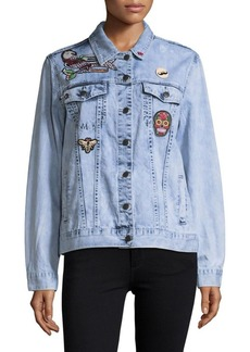 Saks Fifth Avenue RED Indiana Denim Jacket
