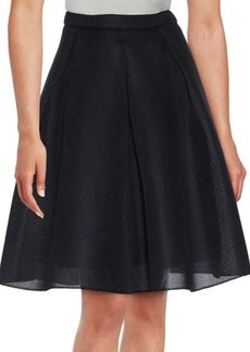 Saks Fifth Avenue RED Knitted A-Line Skirt