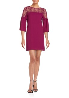 Saks Fifth Avenue RED Larissa Lace-Trim Shift Dress