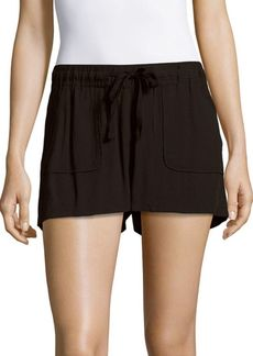 Saks Fifth Avenue RED Marlin Solid Four-Pocket Shorts