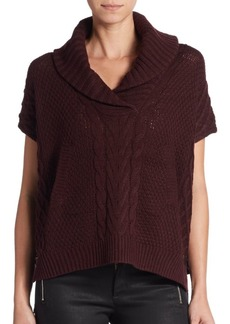 Saks Fifth Avenue Mixed-Knit Sweater