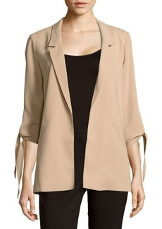 Saks Fifth Avenue RED Notch-Lapel Open-Front Jacket