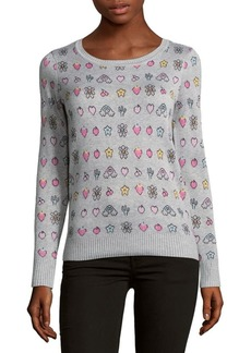 Saks Fifth Avenue Patterned Knitted Sweater