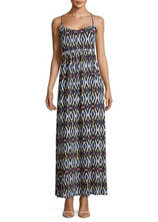 Saks Fifth Avenue RED Printed Maxi Dress
