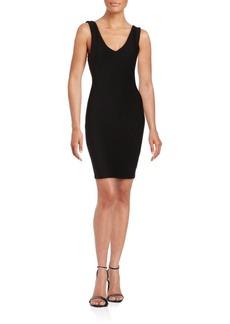 Saks Fifth Avenue RED Sleeveless Bodycon Dress