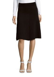 Saks Fifth Avenue RED Textured Sweater Skirt