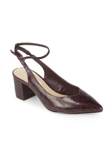 Reese Leather Ankle-Strap Pumps