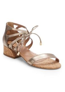 Saks Fifth Avenue Reina Leather & Cork Sandals