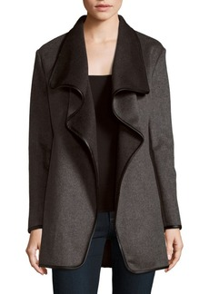 Saks Fifth Avenue Reversible Long Sleeve Jacket