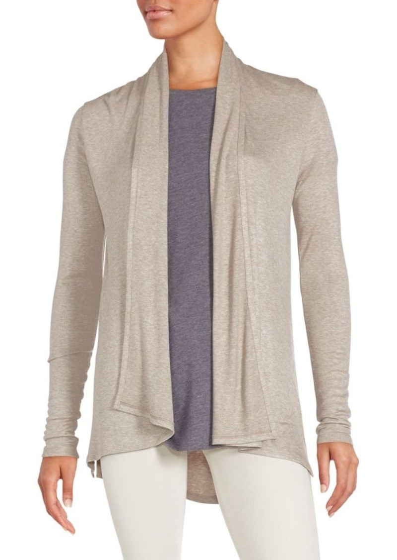 Saks Fifth Avenue BLUE Rib-Knit Cardigan