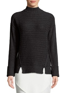 Saks Fifth Avenue Ribbed Pullover