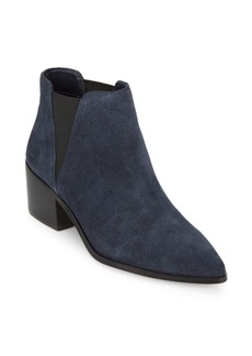 Rowena Suede Point Toe Booties