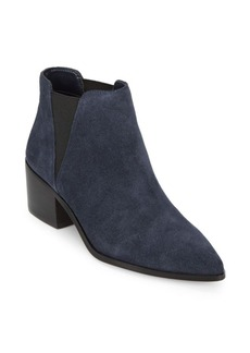 Saks Fifth Avenue Rowena Suede Point Toe Booties