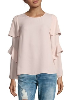 Saks Fifth Avenue Ruffled Double-Sleeve Top
