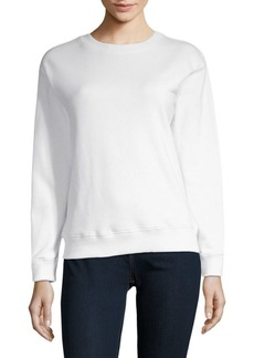 Saks Fifth Avenue Ruffled Long-Sleeve Sweatshirt