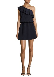Saks Fifth Avenue Ruffled One-Shoulder Dress