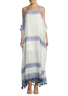 Saks Fifth Avenue Salma Cold-Shoulder Cotton Dress