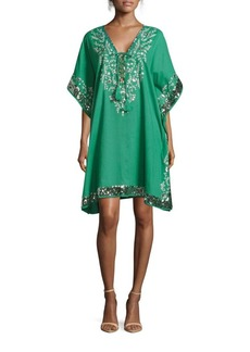 Saks Fifth Avenue Sequined Caftan Dress