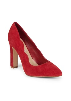 Saks Fifth Avenue Shandy Suede Block Heels