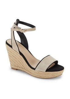 Saks Fifth Avenue Shelby Open Toe Wedge Sandals