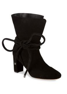 Saks Fifth Avenue Shoestring Suede Booties